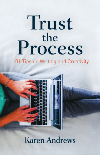 Trust The Process Book by Karen Andrews