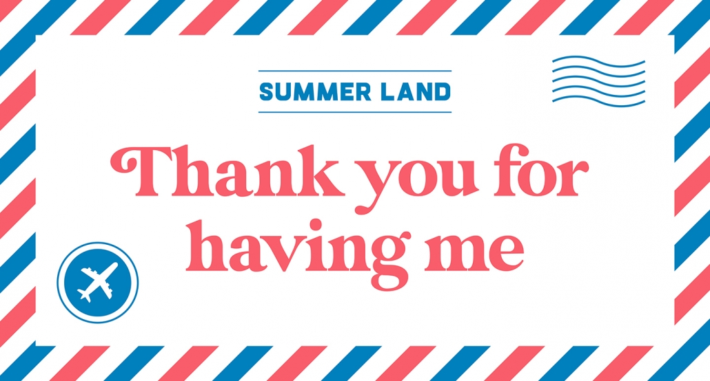 Summer Land expat travel podcast thank you for having me